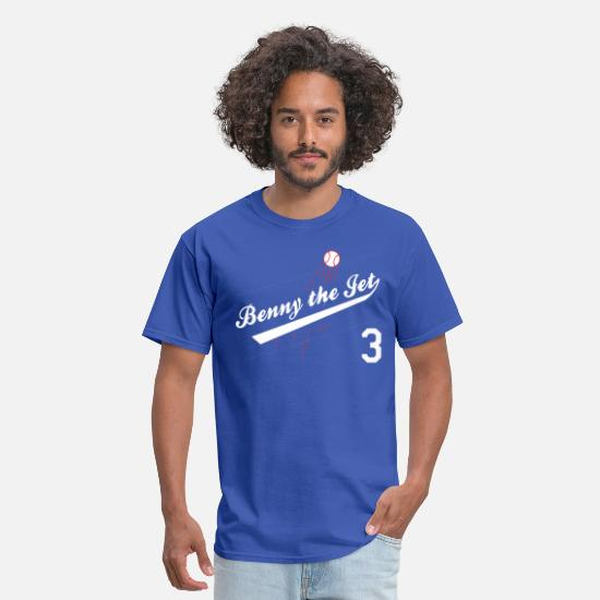 Jet T-Shirts - Benny the Jet for Blue_white 3 - Men's T-Shirt royal blue