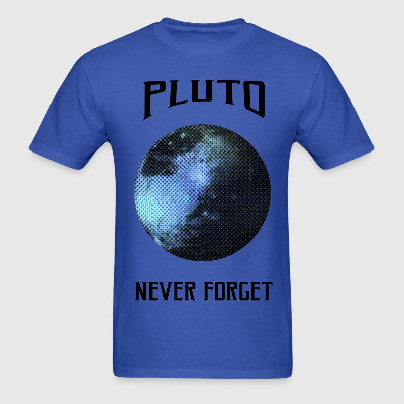 Pluto never forget - Men's T-Shirt