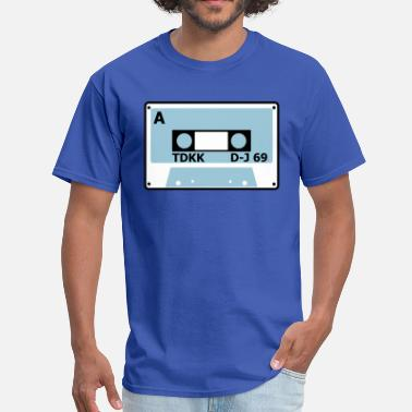 Tape Numbers cassette tape cool 80s number 2 - Men's T-Shirt
