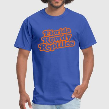 Rowdy Reptiles - Men's T-Shirt