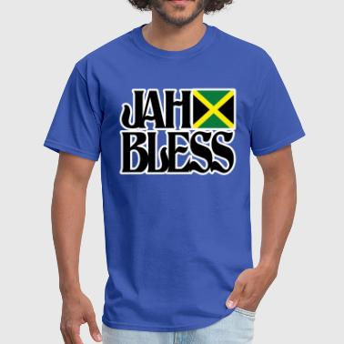 jah bless - Men's T-Shirt