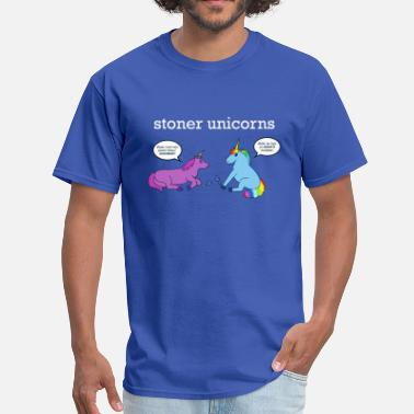 Short Tail Stoner Unicorns T-Shirt (Men's Standard) - Men's T-Shirt
