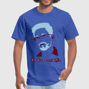 Team Edward Snowden Edward Snowden - Men's T-Shirt