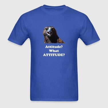 Attitude Young Bald Eagle - Men's T-Shirt