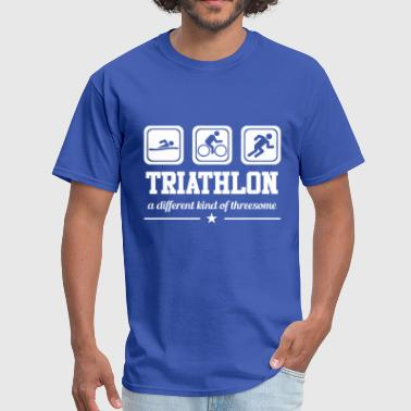 Gift Threesome Triathlon - Threesome - Men's T-Shirt