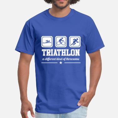 Triathlon Threesome Triathlon - Threesome - Men's T-Shirt