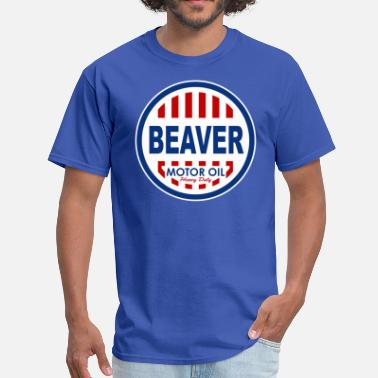 Oil Beaver Motor Oil - Men's T-Shirt