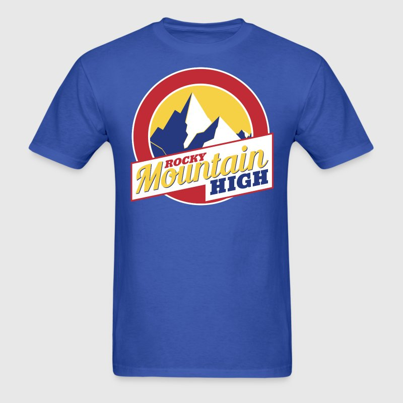Rocky Mountain High Colorado - Men's T-Shirt