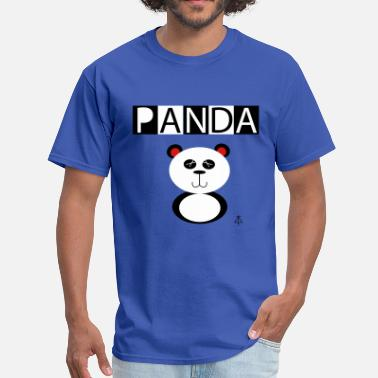 Panda Design Panda - Men's T-Shirt