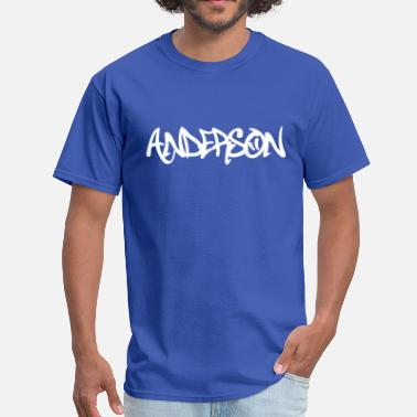 Anderson Anderson graffiti - Men's T-Shirt
