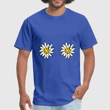 fleurs flowers sexy breast titts boobs Bavaria  - Men's T-Shirt