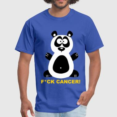 Fuck Cancer Swag Fuck Cancer Fight Cancer Panda Pandabear Bear Cool - Men's T-Shirt
