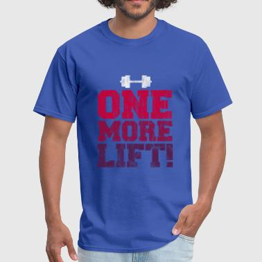 Gym And Exercise - One more lift - Men's T-Shirt