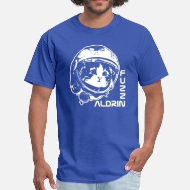 Buzz Aldrin Cat astronaut Buzz Aldrin parody - Men's T-Shirt