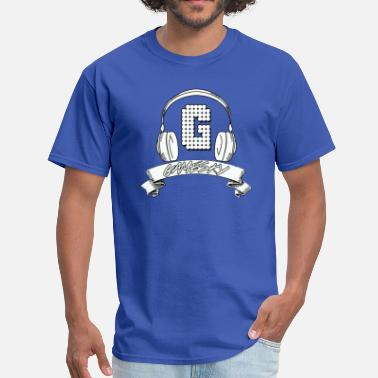 Youtuber Sketch Gamesky Headphone Logo Blue - Men's T-Shirt