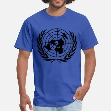 United Nations Symbol United Nations UN - Men's T-Shirt