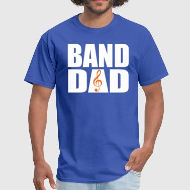 Band Dad (Dual-Color) - Men's T-Shirt