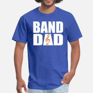 Band Dad Band Dad (Dual-Color) - Men's T-Shirt