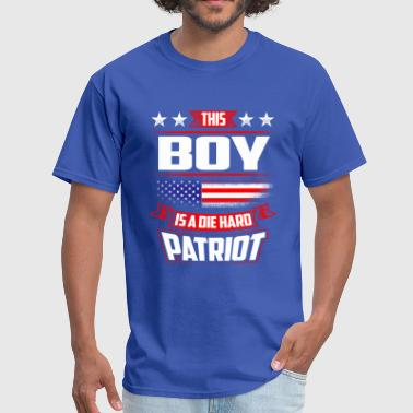 Hard Boy 4th Of July Boy Die Hard  Patriot Shirt Gift - Men's T-Shirt