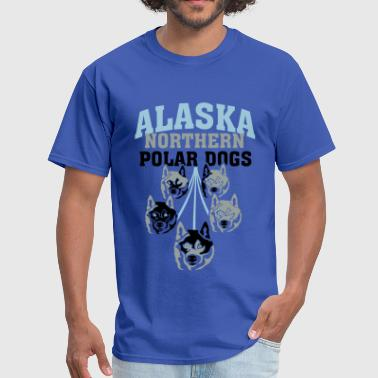 Alaska Dogs Alaska Northern Polar Dog - Men's T-Shirt