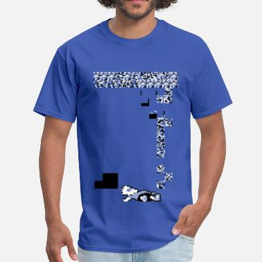 Bart Simpson Bart Glitch - Men's T-Shirt