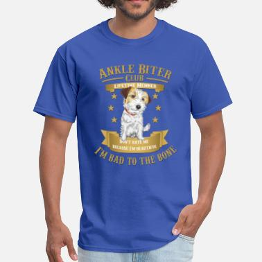 Jack Russel Jack Russell Terriers are Bad to the Bone - Men's T-Shirt