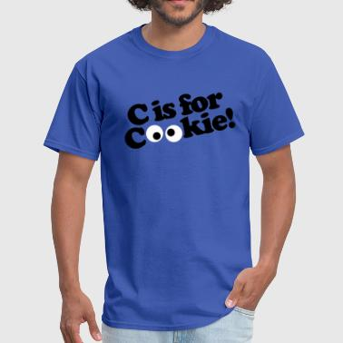 C is for Cookie - Men's T-Shirt