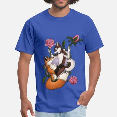 Furry Canine Lover - Men's T-Shirt