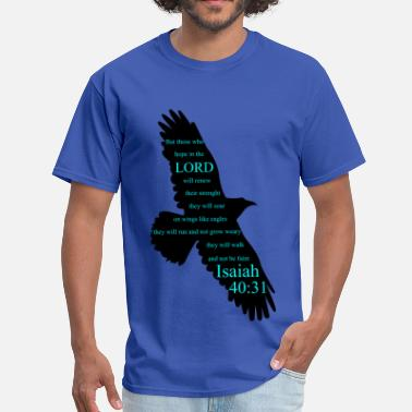 Isaiah Isaiah 40:31 Eagle - Men's T-Shirt