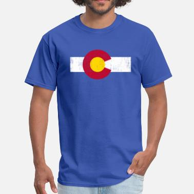 State Flag Colorado State Flag - Men's T-Shirt