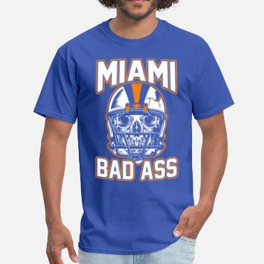 Miami Geek miami bad ass - Men's T-Shirt