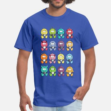Many Dogs Many colourful dogs - Men's T-Shirt