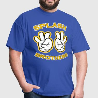 Splash Brothers funny saying - Men's T-Shirt