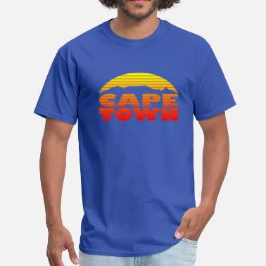 Cape Town TableMountain-RedYellow - Men's T-Shirt