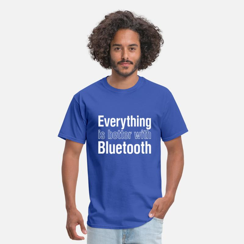 Bang T-Shirts - bluetooth - Men's T-Shirt royal blue