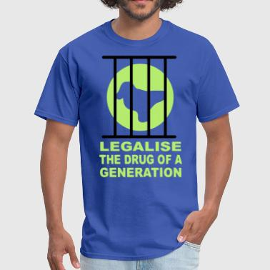 Legalise the drug of a party generation - Men's T-Shirt