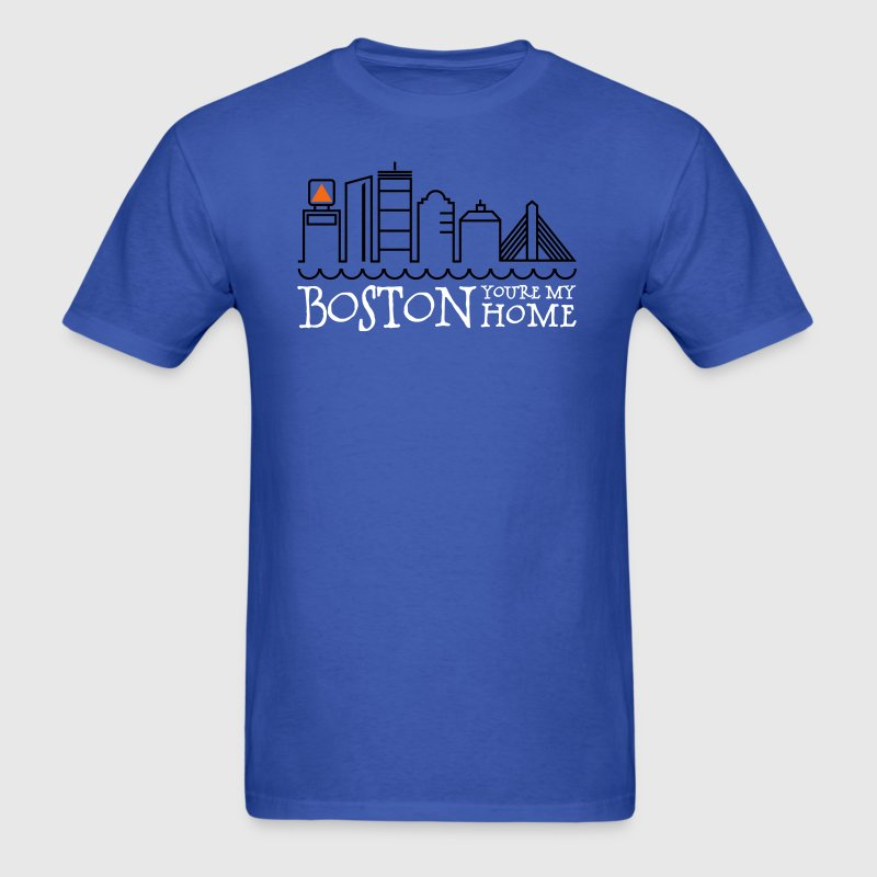Boston, You're My Home - Men's T-Shirt