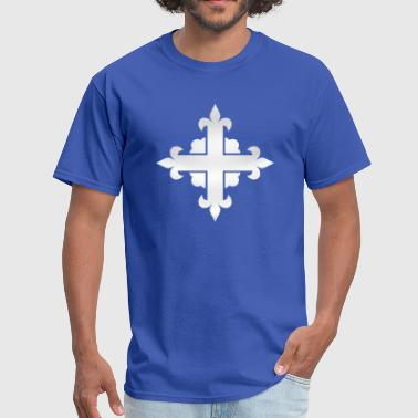 Musketeer Tabard Cross - Men's T-Shirt