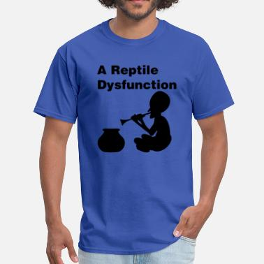 Dysfunctional Veteran A Reptile Dysfunction - Men's T-Shirt