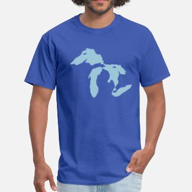 Great Lakes State Great Lakes - Men's T-Shirt