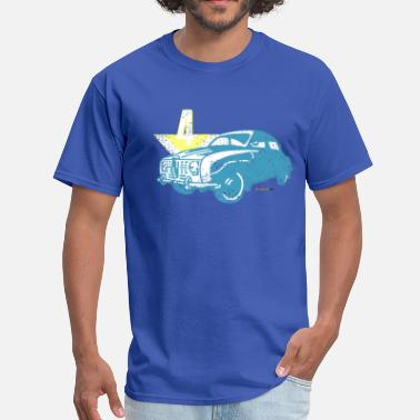 Saab 96 Distressed Saab 96 V4 - AUTONAUT.com - Men's T-Shirt