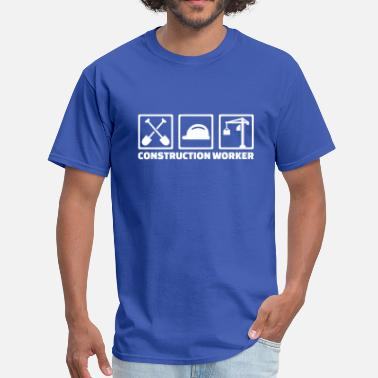 Construction Worker Construction worker - Men's T-Shirt