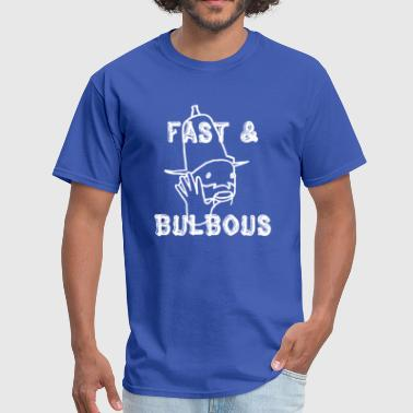 Fast Bulbous Zappa Classic Psychedelic - Men's T-Shirt