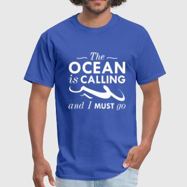 The Ocean Is Calling - Men's T-Shirt