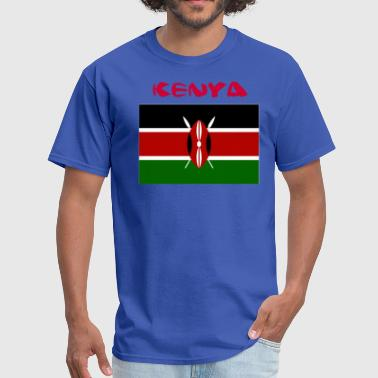 Kenyan Flag - Men's T-Shirt
