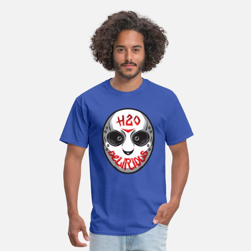 Hockey T-Shirts - H20 Mask  T-Shirts - Men's T-Shirt royal blue