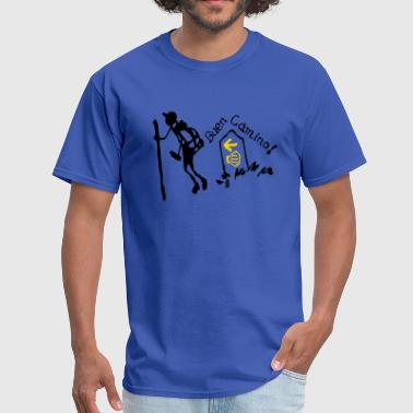 buen_camino_pilgrimage - Men's T-Shirt