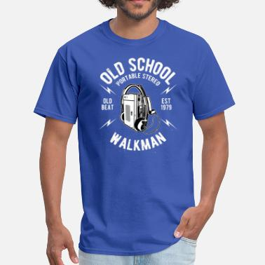Old School Walkman - Men's T-Shirt