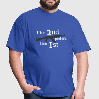 The 2nd protects the 1st - Men's T-Shirt