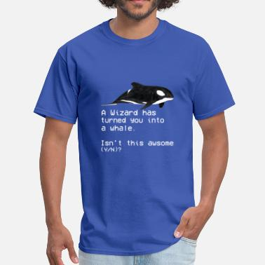 Roy It Crowd Roy Whale Shirt - Men's T-Shirt